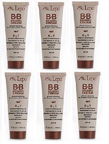 lepo-6-confezioni-di-bb-cream-medio-chiaro-50ml-n1-idratante-protegge-dagli-uv-uniforma-il-colorito