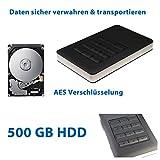 Externe USB 3.0 500GB HDD Festplatte 2.5