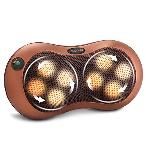 Multifunktionale Halswirbel Bein Taille benutzerdefinierte elektrische Massagegerät Auto nach Hause Massage Kissen Instrument Körpermassage Weihnachtsgeschenk (Knet-massagegerät Auto)