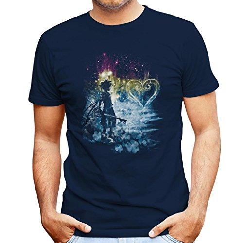 Kingdom Hearts A Path To The Heart Men's T-Shirt (Kingdom Bekleidung Hearts)