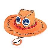 Photo de gfdssdfvcx Hat, Ace Sun, Chapeau de Cowboy, Dessin animé périphérique de Dessin animé, Capuchon de Protection UV extérieur, A2_56-58cm par gfdssdfvcx