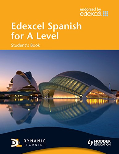 Edexcel Spanish for A Level Student's Book (EAML) by Mike Thacker (25-Jul-2008) Paperback