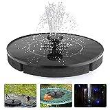 vitutech Solar Springbrunnen, Solar Brunnen Pumpe 9V 2.4W Monokristalline Solar...