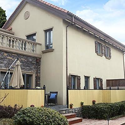 SONGMICS PVC Sichtschutzmatte Sichtschutz für Garten Balkon und Terrasse von SONGMICS auf Du und dein Garten