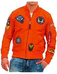 promo code dad26 46bef Suchergebnis auf Amazon.de für: bomberjacke herren - Orange ...