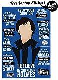 #7: Alter Ego I Believe In Sherlock Holmes - Sherlocked Poster