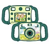DROGRACE Kinderkamera Digitalkamera 1080P HD Kamera, CE FCC Zertifiziert, RoHS-konform, 4-fach digitaler Zoom, 2.0 Zoll LCD, Flash Lights für Kinder Geburtstagsgeschenk Urlaubsbegleitert –Grün (EU Stock)