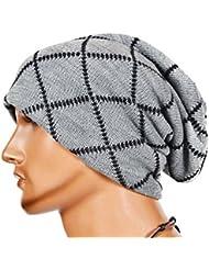 La lana de tejer manchadas sombrero caliente - iParaAiluRy unisex de lujo casquillo de moda Cap Slouchy suave Hip-Hop en invierno y primavera