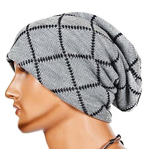 Knitting Wool Striped Warm Hat - iParaAiluRy