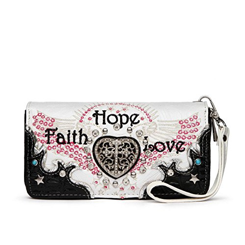 Sac à bandoulière Faith Hope Love Western Cross