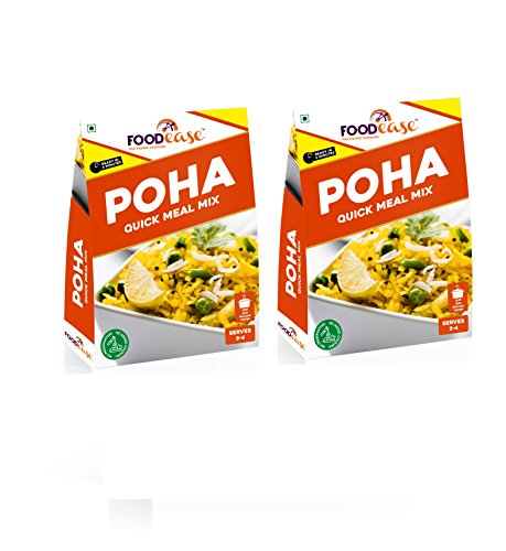 Foodease Instant Poha with No Preservatives – 180g (Pack of 2)
