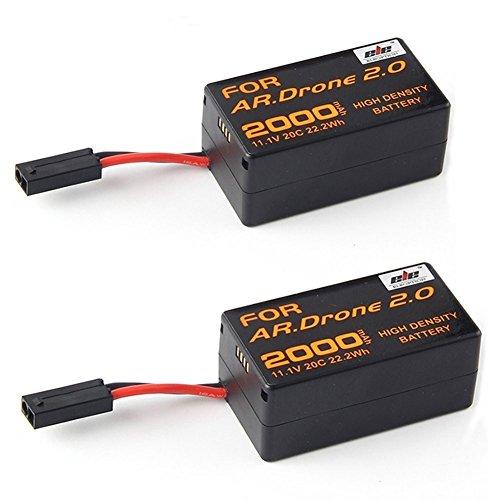 Usado, Paquete de 2 baterías de repuesto de gran calidad de segunda mano  Se entrega en toda España