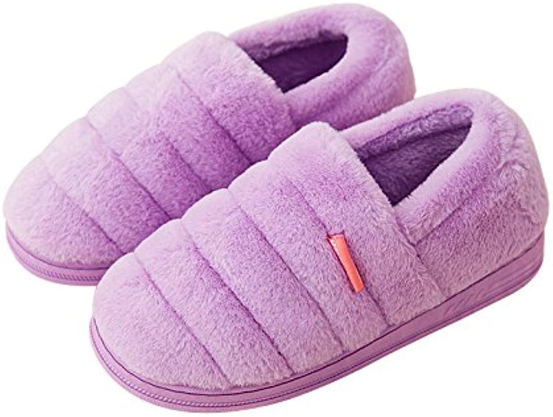 YMFIE Señorías invierno cálido algodón acolchado zapatos zapatillas zapatos,40/41,g  -