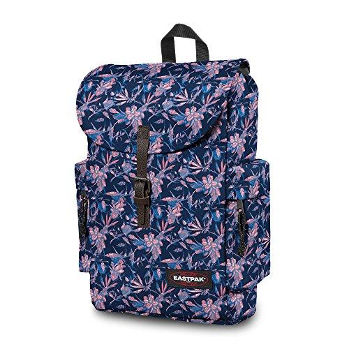 Eastpak Zaino Authentic Collection Austin Blu Scuro Multicolore (Brize Pink)