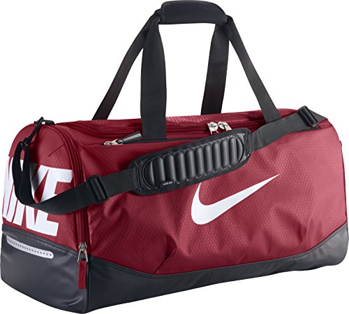 Nike Team Training Max Air Sac de sport Rouge/Noir/Blanc