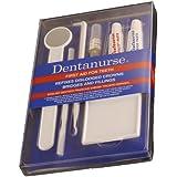 Dentanurse - Kit de primeros auxilios para salud dental, bolsa de viaje plana
