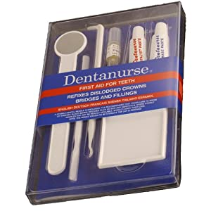 51yPdpuxtgL. SS300  - Dentanurse First Aid Kit for Teeth Flat Pack - 1 Kit