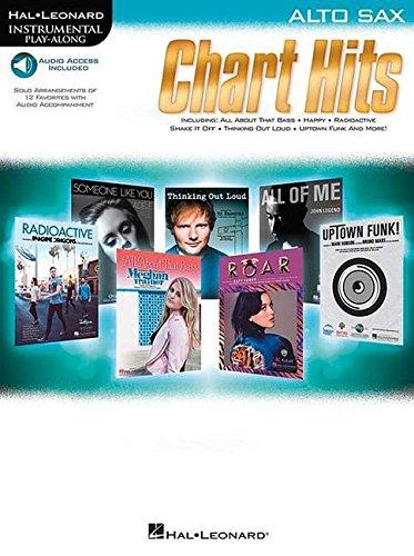 Instrumental Play-Along Chart Hits: Alto Saxophone (Hal Leonard Instrumental Play-Along) por Various