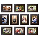 Trends On Wall Memory Wall Photo Frame Set Classic Set Of 10 Individual Photo Frames 10 4 Inch X 6 Inch Photo Frames
