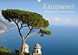 Kampanien - Monumente und Naturlandschaften (Wandkalender 2020 DIN A3 quer): Kampanien - Monumente und Naturlandschaften: Die berühmte Westküste .. - (Monatskalender, 14 Seiten ) (CALVENDO Orte) - Juergen Schonnop