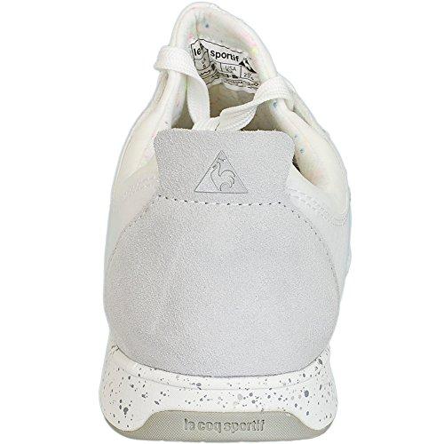 Le Coq Sportif Damen Sneaker Flore Low weiß/weiß Weiß
