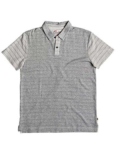 Quiksilver Herren cimbelloport Polo Shirt XXL Medium Grey Heather (Polo Herren Quiksilver)
