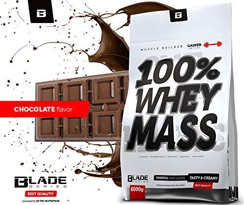 Whey Mass Gainer - 6000g - BLADE Series Geschmack Schoko