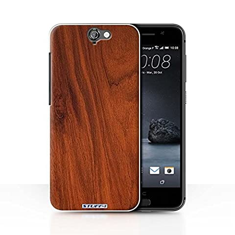 Coque de Stuff4 / Coque pour HTC One A9 / Acajou Design / Motif Grain de Bois Collection