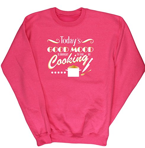 hippowarehouse-todays-good-mood-is-brought-to-you-by-cooking-kids-unisex-jumper-sweatshirt-pullover