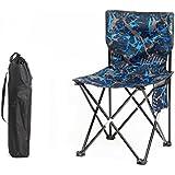 ZDY Silla plegable al aire libre / silla portable del ocio de la playa / plegable maza pesca taburete / silla del bosquejo trasero / silla al aire libre ( Color : 8# )