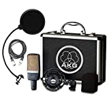 AKG C214 Large Diaphragm Condenser Microphone Vocal Pack