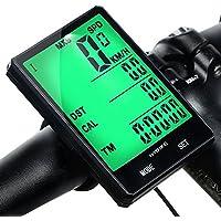 Mishuo Fahrradcomputer GPS Fahrradtacho Kabellos Wasserdicht Kinder Analog Batterie Großes Display Touch Kilometerzähler Tachometer Mountainbike Rennrad