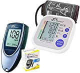 #9: Dr. Morepen BP02 Blood Pressure Monitor and BG03 Glucose Check Monitor Combo (Black)