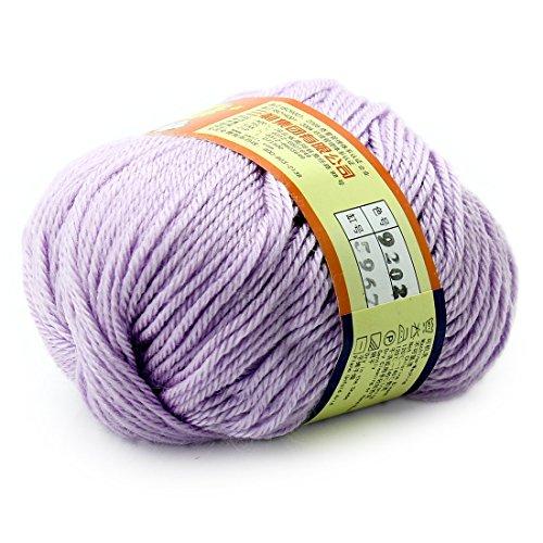 Baby Garn Handwerk Kammgarn 50G Pullover Wolle gestrickte weiche Strick Warm (Stricken Garn Kammgarn)