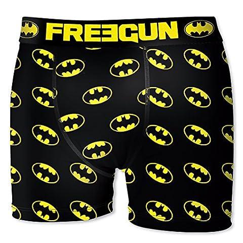 Boxer Batman - Boxer Freegun Homme DC Comics Batman Logo