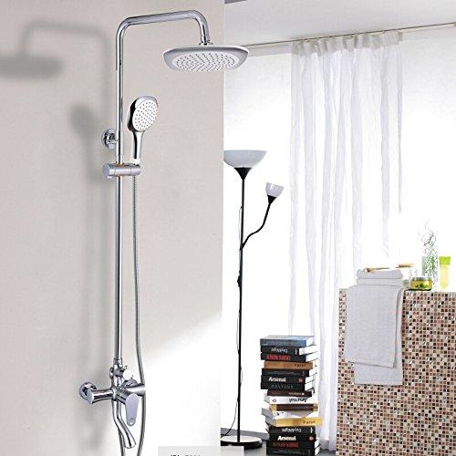 set-doccia-pioggia-di-rame-doccia-multifunzionaletubo-dacciaio