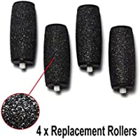 Velvet Smooth Generic Replacement Rollers Compatible With Scholl Velvet Smooth Hand Held Electric Pedi Hard Skin... preisvergleich bei billige-tabletten.eu