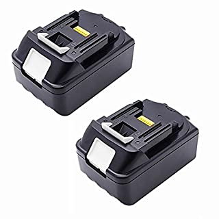 2 x 4.0 Ah Replacement Battery for Makita BL1840 BL1830 BL1815 4000mAh 18V