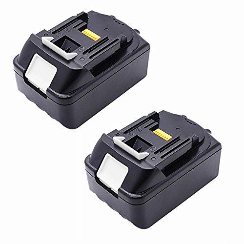 Preisvergleich Produktbild 2 Stück 4, 0 Ah BL1840 Akku für Makita BL1830, 18 V Makita BL1840 BL1850 4000mAh Ersatzbatterie (LG-Zellen)