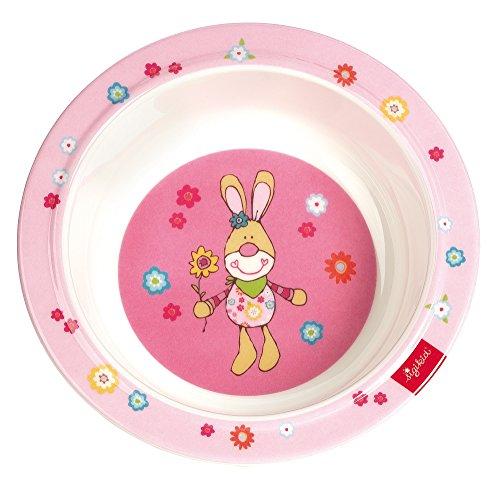 Sigikid Bungee Bunny Melamin Schüssel (15,5x 15,5x 4,5cm) Bungee-slip