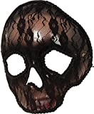 Mujer Mexicano Baile De Máscaras Fiesta Accesorio de disfraz halloween Calavera Máscara ENCAJE