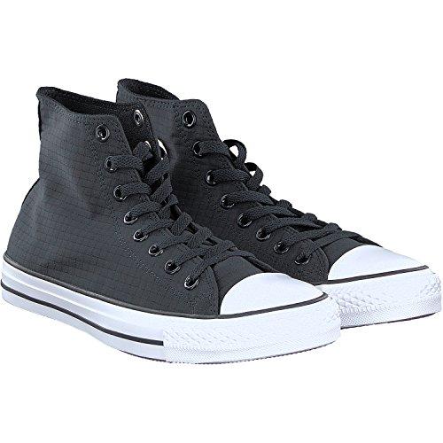 Converse Chuck Taylor All Star High di Top Unisex Sneaker Schwarz (Black/White/Black)