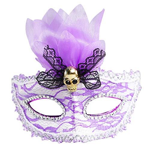 Purge Bilder Kostüm - Halloween Maske, 5 Modi, TIREOW LED Leuchtend 7 Farb Lichter Augen Masken 230mAh Tanzen Party Festival Weihnachten