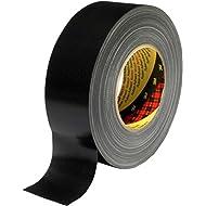 3M 7000111463 Scotch Gewebeklebeband, 389, 100 mm x 50 m, 0,26 mm, Schwarz