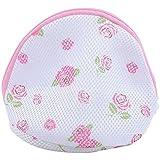 eFuture(TM) Nylon Protective Laundry Washing Bag Floating Wash Bag For Nursing Bra Underwear (Random Color) with Keyring