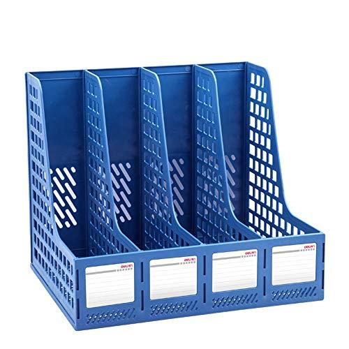 Dfghbnoffice File Holder Large Thicktened Vierfach Data Frame File Frame File Bar Sorter Basket Stacking Supports -