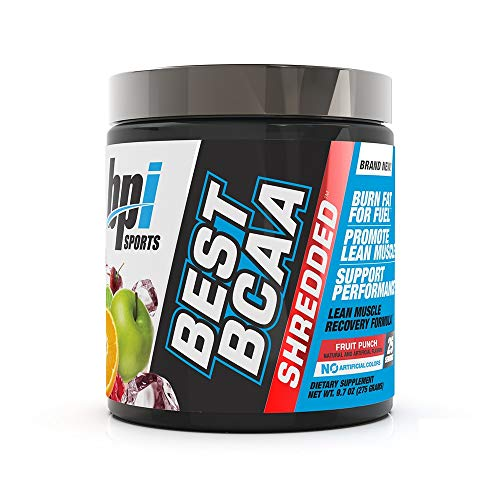 Bpi Sports Best BCAA Shredded (25 serv) Fruit Punch, 275 g