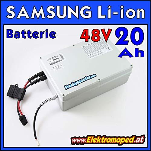 FREAKYSCOOTER 48V 20Ah Samsung batería Litio-Ion