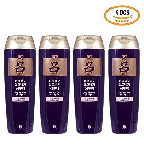 Premium Ginseng Saponin Anti-Haarausfall-Shampoo fettige Kopfhaut Pflege 180ml 2P 4P für geschädigtes Haar und Kopfhaut Beruhigende–trinkbar Shampoo Made in Korea