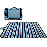 hupuy Picknickdecke Outdoor 200X150 Moistureproof, Waterproof and Wear-Resistant Picnic Pad Camping Moistureproof Pad Tent Floor - Outdoor Decke
